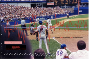 Darryl Strawberry, Keith Hernandez, Shea Stadium speed